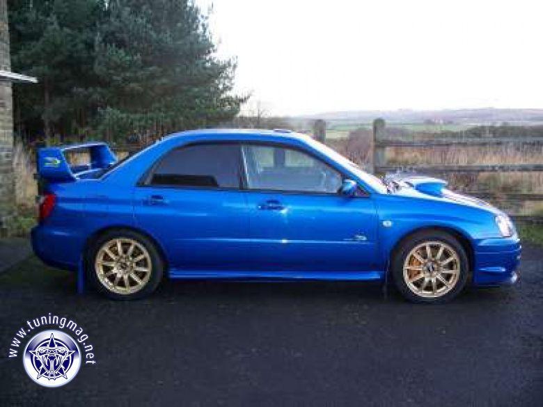 Subaru Impreza wrx sti turbo