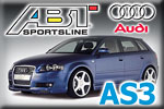 Family wagon AUDI AS3 Sportback tuned by ABT!