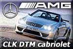 Mercedes-Benz CLK DTM AMG Cabriolet - 300 kph maximal speed !!!