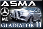 The armoured fighter – ASMA Mercedes-Benz ML GLADIATOR II
