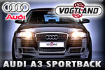 Audi A3 Sportback tuning by Vogtland – a sporty beast!