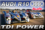 Audi R10 TDI® power – the force of turbo diesel!
