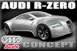 Audi R-Zero Concept - electricity-propelled supersport