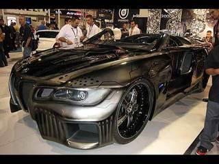 Alpine Sinister Six BMW 645i Showcar - Tuned Cars,car engine