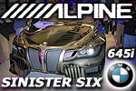 Alpine Sinister Six BMW 645i Showcar