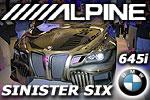 Alpine Sinister Six BMW 645i Showcar