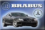 Mercedes SLR tuning by Brabus!