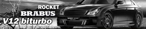 Brabus Rocket CLS 600 – the fastest saloon in the world!