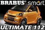 Smart Fortwo Ultimate 112  like a small rocket made by Brabus