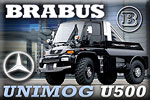 Brabus Mercedes Unimog 500 Black Edition