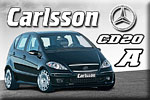 Mercedes A-Class tuning – Carlsson's darling