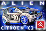 Citroen C2 Tuning in multimedia rage by SQ PLUS!