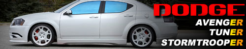 Dodge Avenger Tuner Stormtrooper – dangerous or innocent virginity?