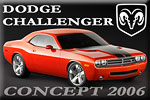 2006 Dodge Challenger Concept - a classic heart in the body of modern handsome!