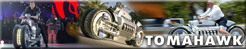 "For suicides – DODGE TOMAHAWK with acceleration to a ""hundred"" in 2,5 s"