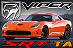 SRT Viper TA s vylepšeným podvozkom a oranžovým lakom Crusher Orange
