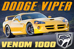 Hennessey Venom 1000 Twin Turbo Dodge Viper SRT !