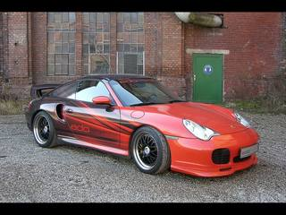 Porsche 996 Turbo Tuning