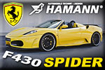 Ferrari F430 Spider tuning by Hamann