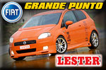Fiat Grande Punto modified by Lester