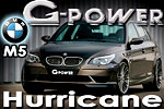 G-Power BMW M5  the hurricane from Germany