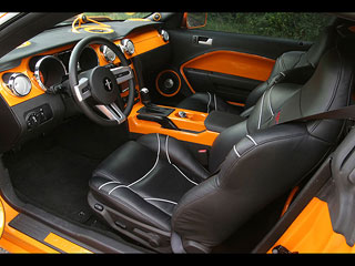 Ford Mustang GT 520 Geiger interior