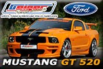 Orange GeigerCars Ford Mustang GT 520!