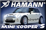 City sprinter Mini Cooper S HAMANN!
