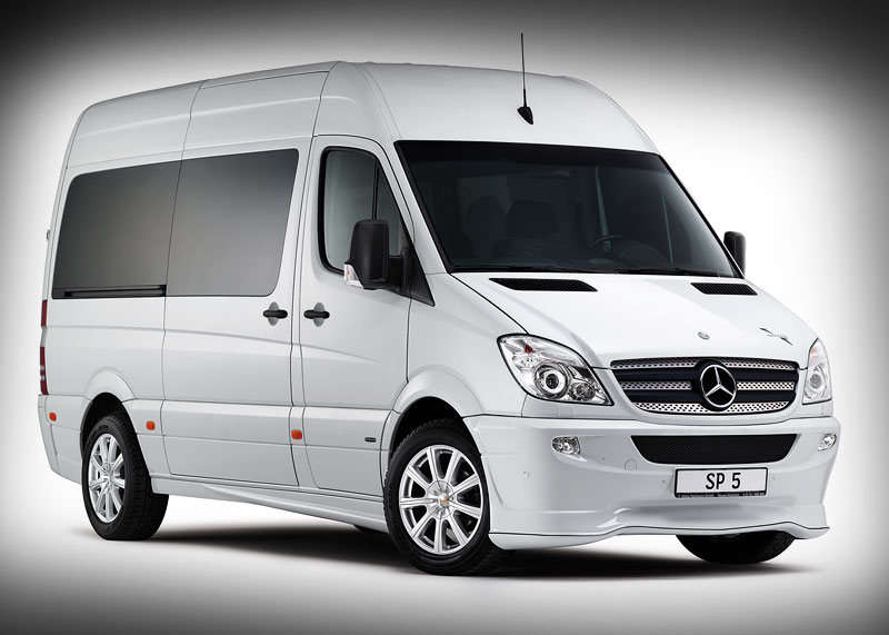Hartmann-Tuning Mercedes Sprinter SP5 – a massive bling bling ...