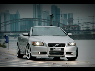 volvo c70 tuning by heico sportiv car tuning magazine. Black Bedroom Furniture Sets. Home Design Ideas