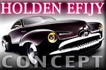 Concept car Holden Efijy - an Australian classic in an American retro style
