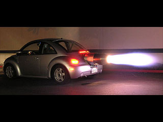 Volkswagen Beetle Jet Powered