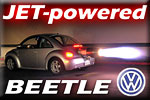 VW Beetle Street-Legal Jet Powered – takes jet engine to our streets!