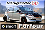 Königseder and its creation on a tiny SMART Forfour car!
