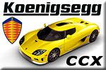 Koenigsegg CCX - the hurricane from Sweden