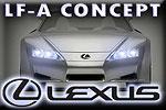The spaceship on four wheels – Lexus LF-A Concept!