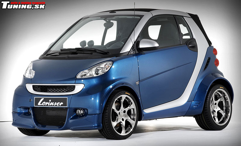 Smart Fortwo Lorinser Tuning