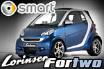 Lorinser Smart Fortwo  turbo midget!