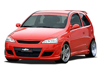 Opel Corsa C Tuning By Lumma Tuning Car Tuning Magazine
