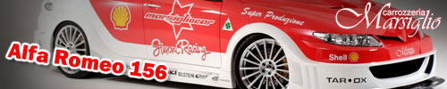 Alfa Romeo 156 tuning by Marsiglio Car – proper DTM style!