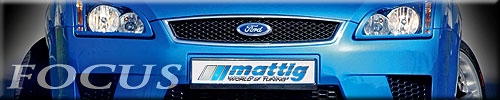 Ford Focus modified by Mattig Tuning