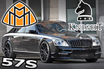 Maybach 57s from KnightLuxury - luxury tuning you will never forget
