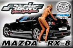 Mazda RX-8 Simoni Racing – a conjunction of a beauty of woman and a beauty of car !!!
