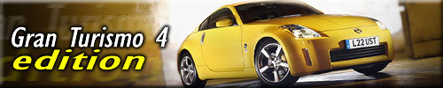 Nissan 350Z Gran Turismo 4 Edition not only in the game but also on roads!