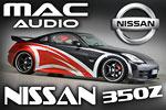 Nissan 350Z Mac Audio Tuning