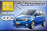 Opel Zafira II tuning by OPC