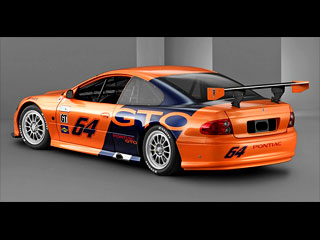 Auto Racing Equipment on Competitive Automobile     Pontiac Gto Grand American Series Race Car