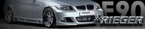Elegant tuning of BMW 3 Series by Rieger Tuning!