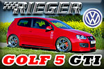 """The Five"" with lag GTI in modification by Rieger Tuning!"