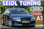 Seidl Tuning and its sportsman Audi A3!